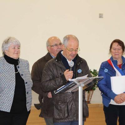 Remise de la médaille de maire honoraire à Alain Mardon