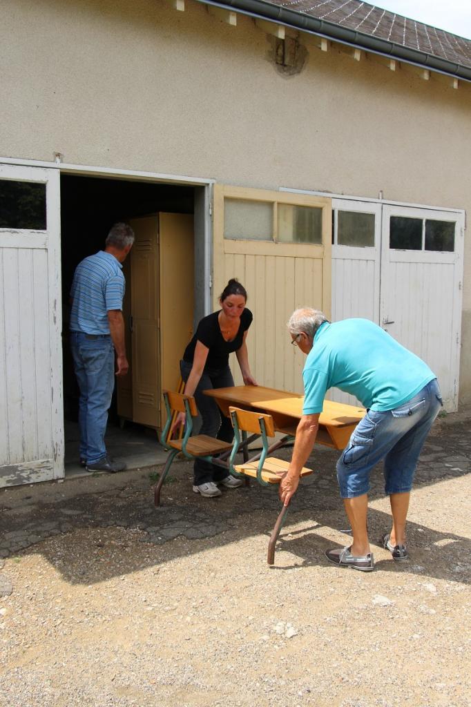 Déborah, Jean-Bernard et Maurice