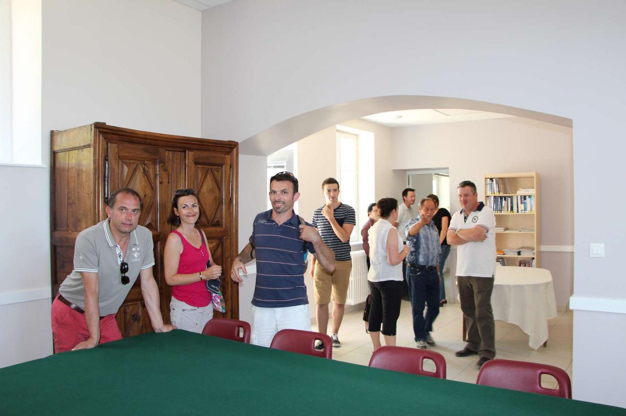 Visite de la mairie et apéritif dinatoire