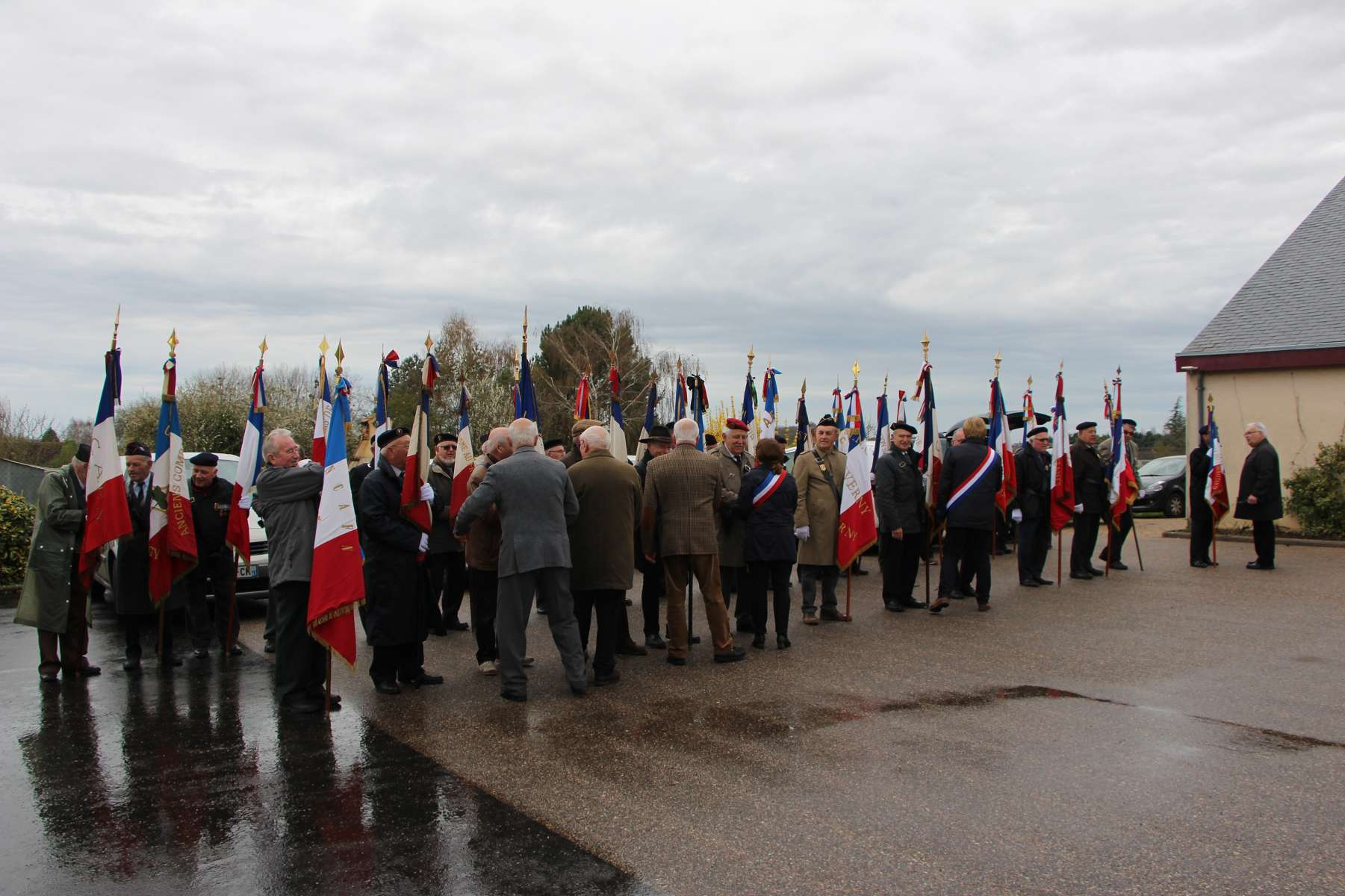 Inauguration stèle ancien combattants 7 avril 2018