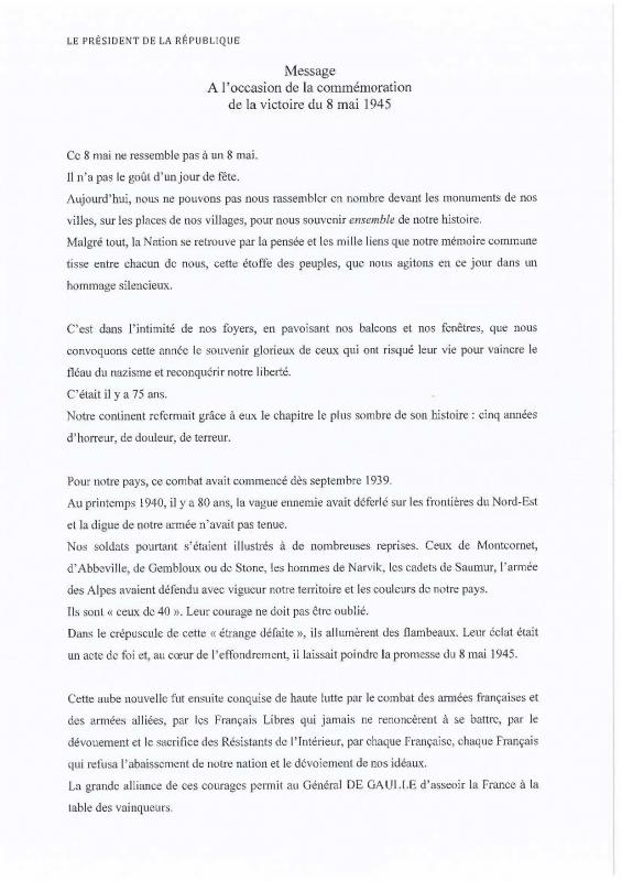 Message pr 8 mai page 001